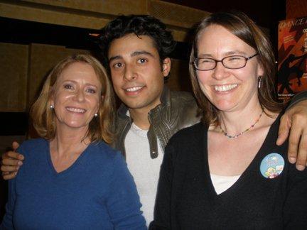 Eve Plumb, Manuel Herrera, and Miss Abigail Grotke