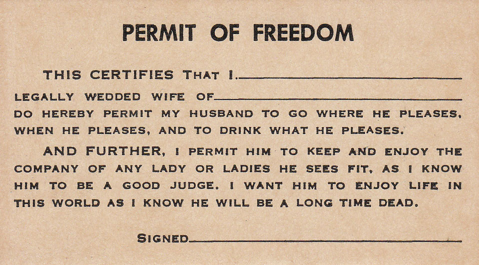 Permit of Freedom