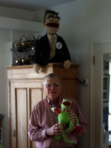 Al and his muppet