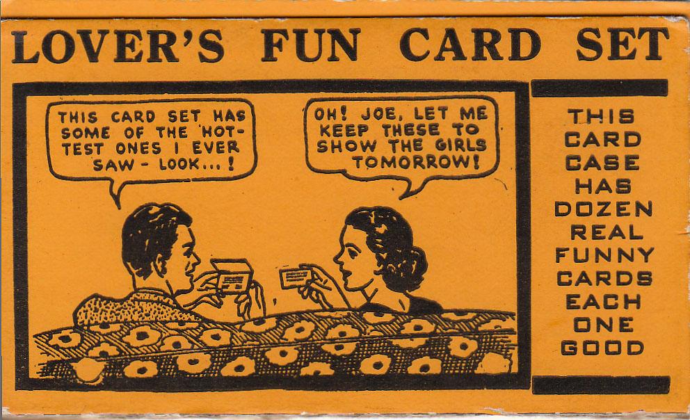 Lover's Fun Card Set
