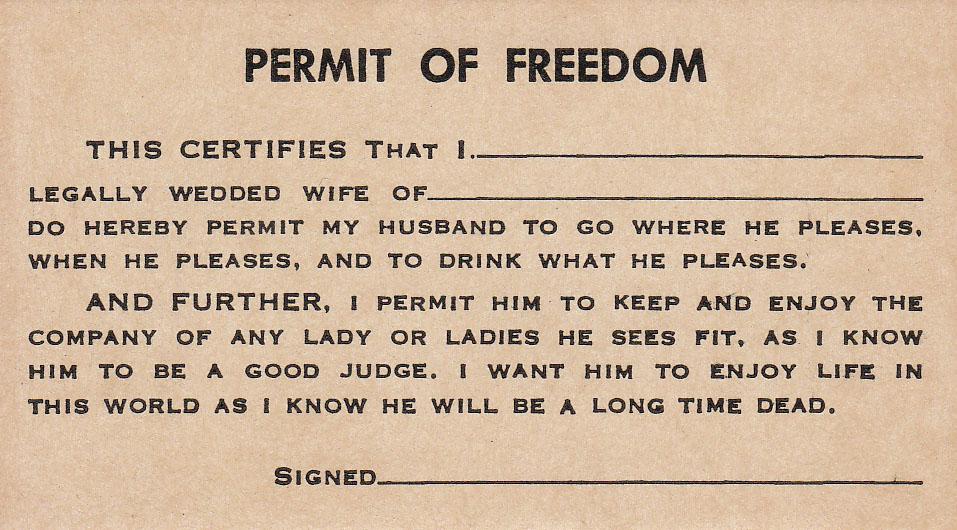 Permit of Freedom