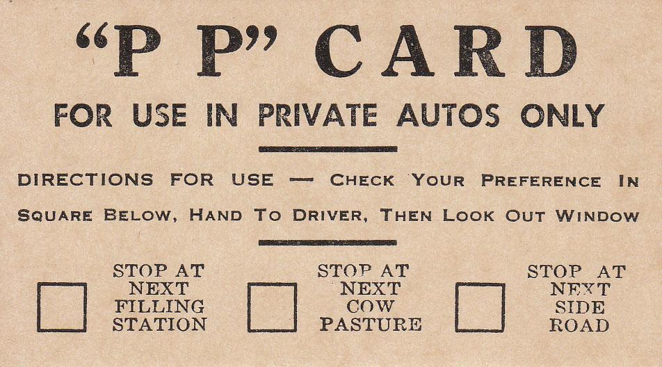 P P Card